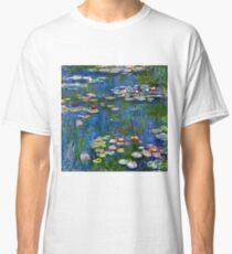 Claude Monet - Water Lilies 1916 Classic T-Shirt