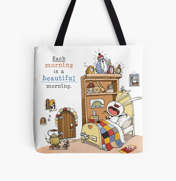 IckyPen - Beautiful Morning All Over Print Tote Bag