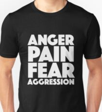 Spaced - Anger. Pain. Fear. Aggression Unisex T-Shirt