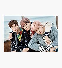 BTS - You Never Walk Alone (ft. Jimin, J-hope, & Jin) Photographic Print