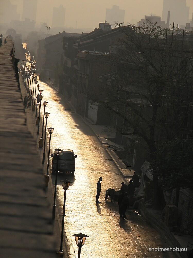 Streets of Xian by shotmeshotyou