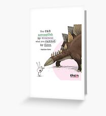 IckyPen - Force vs Kindness Greeting Card