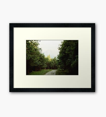 The Path to Rob Roy's Hideout Framed Print