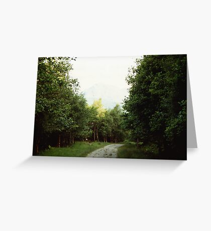 The Path to Rob Roy's Hideout Greeting Card