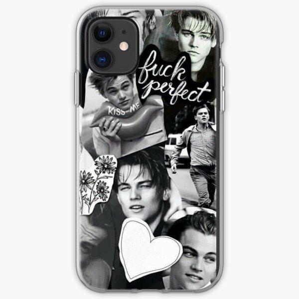 Leo Leonardo DiCaprio Handsome Collage iPhone Soft Case