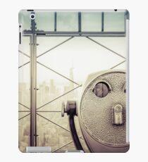 Travel Sunset Landscape - New York City - ESB/WTC iPad Case/Skin