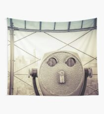 Travel Sunset Landscape - New York City - ESB/WTC Wall Tapestry