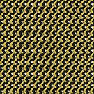 Black and Gold Pattern series by webgrrl