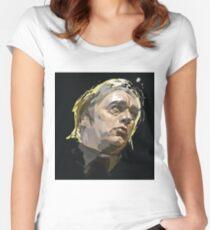 Blixa Bargeld Einstürzende Neubauten Bad Seeds   Women's Fitted Scoop T-Shirt