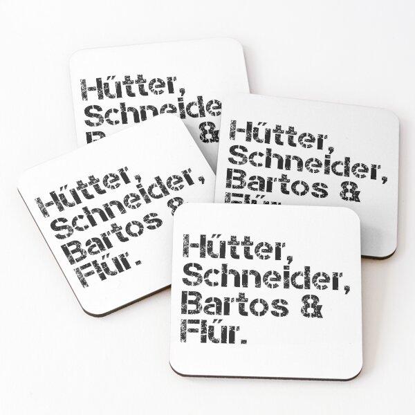 Kraftwerk [line-up] Coasters (Set of 4)