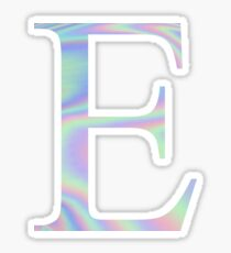 Epsilon E Holographic Greek Sorority Sticker