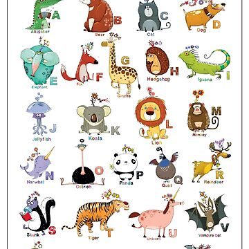 The Icky Animal Alphabet by ickypen