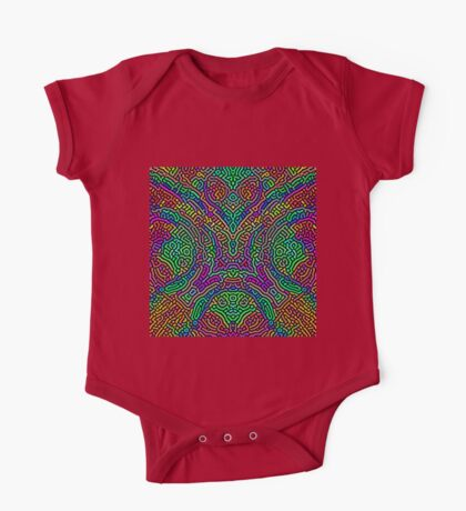 Freaky Stencil Kids Clothes