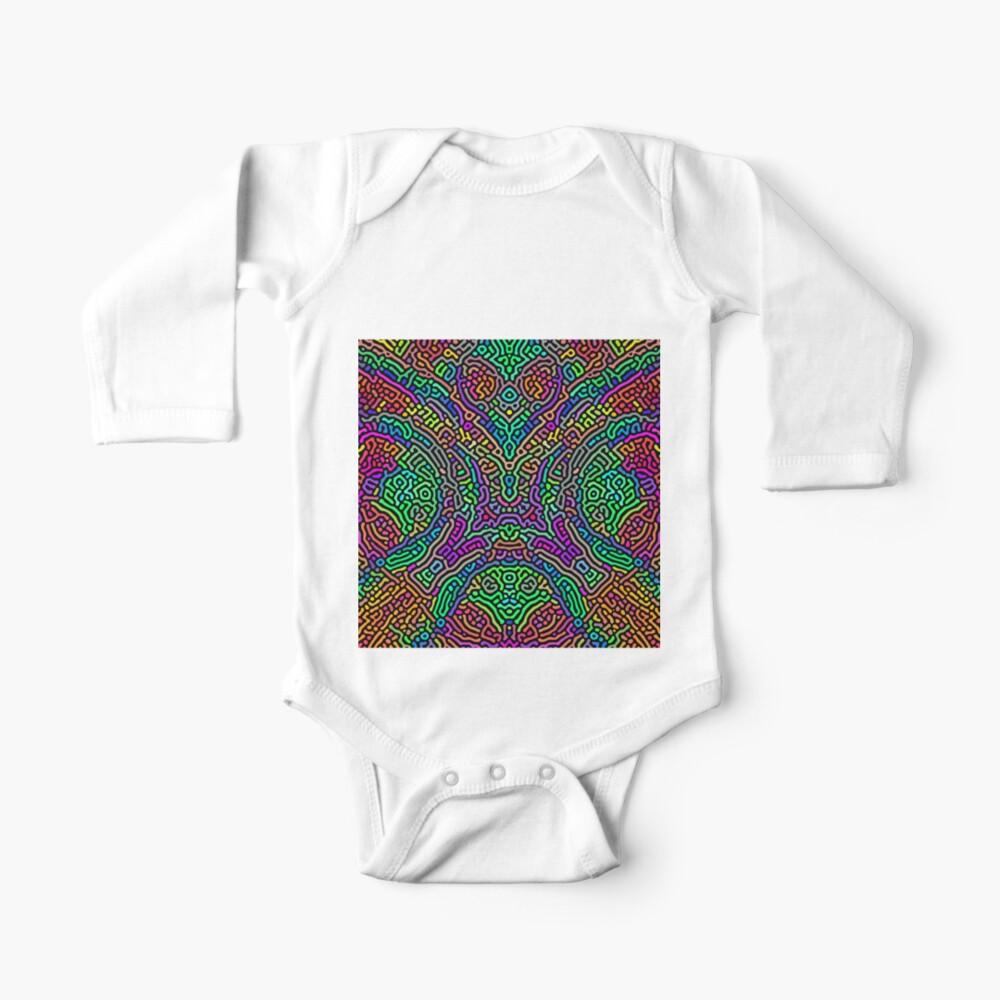 Freaky Stencil Baby One-Piece
