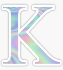 Kappa K Holographic Greek Sorority Sticker