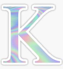 Kappa K Holographische Griechische Schwesternschaft Sticker