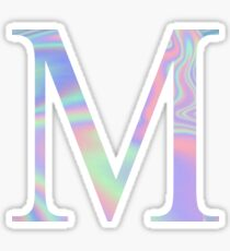 Mu M Holographic Greek Sorority Sticker
