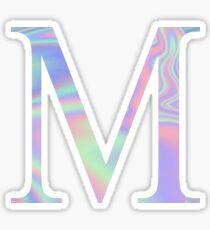 Mu M Holographic Greek Sorority Sticker