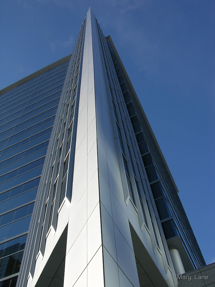 Sharp Building by Mary  Lane