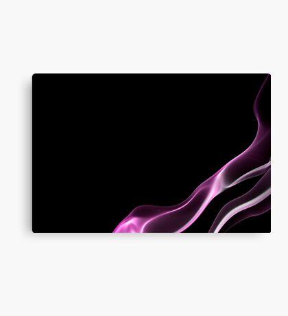 Black smoke 8 Canvas Print