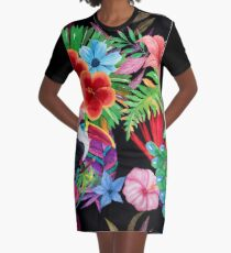 Hawaiian beauty Graphic T-Shirt Dress