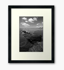 Lying, waiting Framed Print