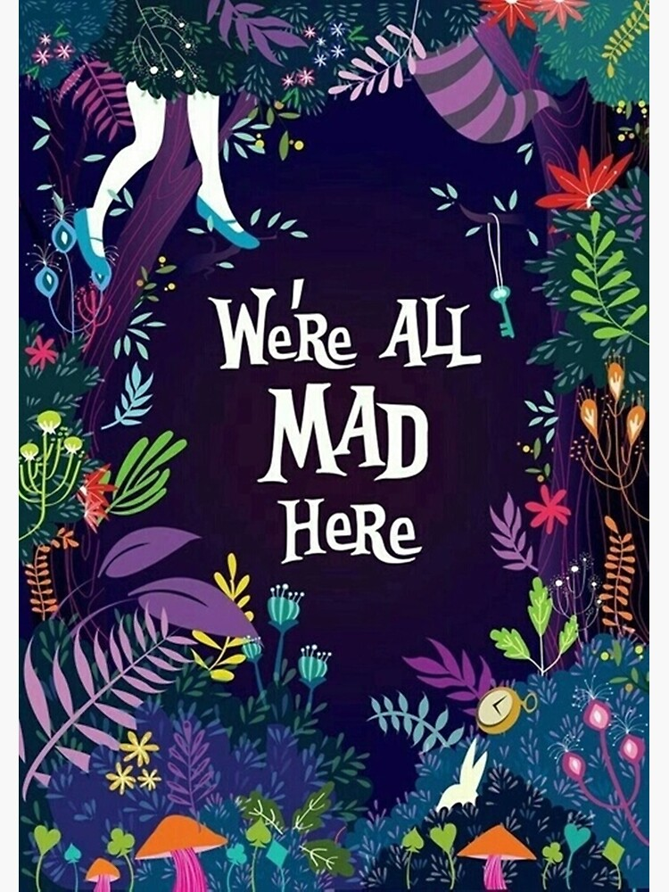 Alice in the Wonderland All Mad Here  de MariaV4