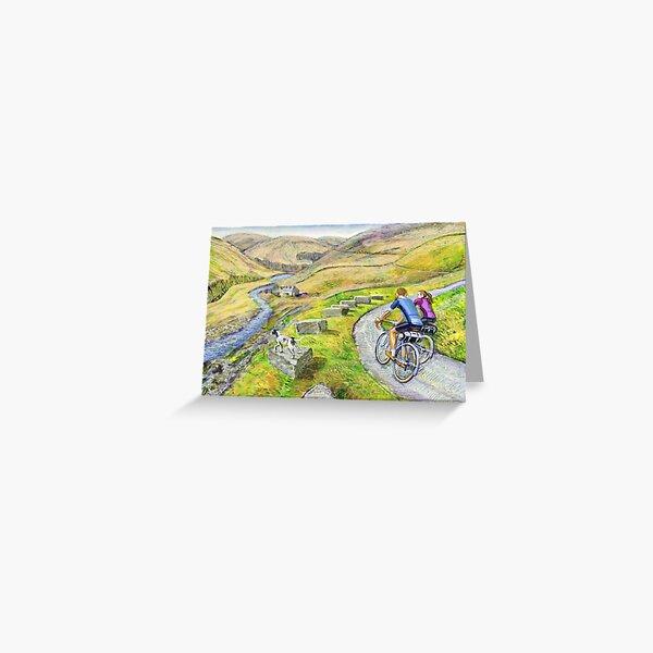 Lancashire  lanes I Greeting Card