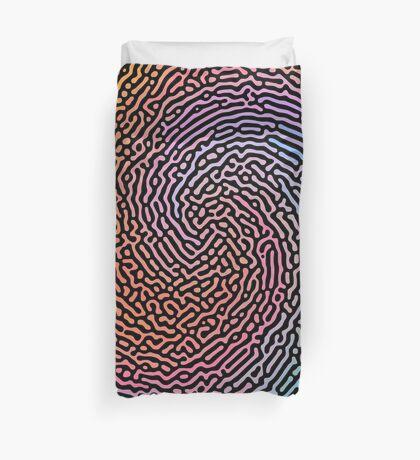 Fingerprint Wave Duvet Cover