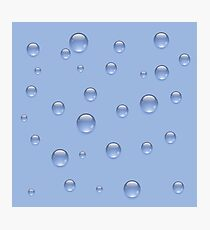 water drops Photographic Print
