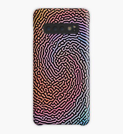 Fingerprint Wave Case/Skin for Samsung Galaxy