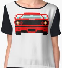 Iconic cars - Red Horse Chiffon Top