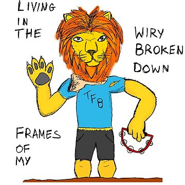 The Front Bottoms Twin Sized Mattress Lion by TheDael