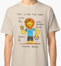 The Front Bottoms Twin Sized Mattress Lion Classic T-Shirt