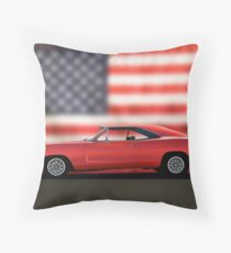 1968 Dodge Charger I Throw Pillow
