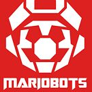 Mariobots! [White (on red)] by MikePHearn