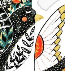 Sparrow & Swallow Sticker