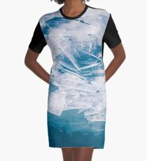 Broken Graphic T-Shirt Dress