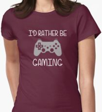 I'd Rather Be Video Gaming T-Shirt