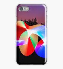 Light graffiti  iPhone Case/Skin