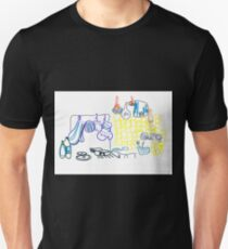 cool kitchen illustration Unisex T-Shirt
