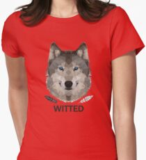 Witted Womens Fitted T-Shirt