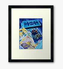 Shaman tarot Framed Print