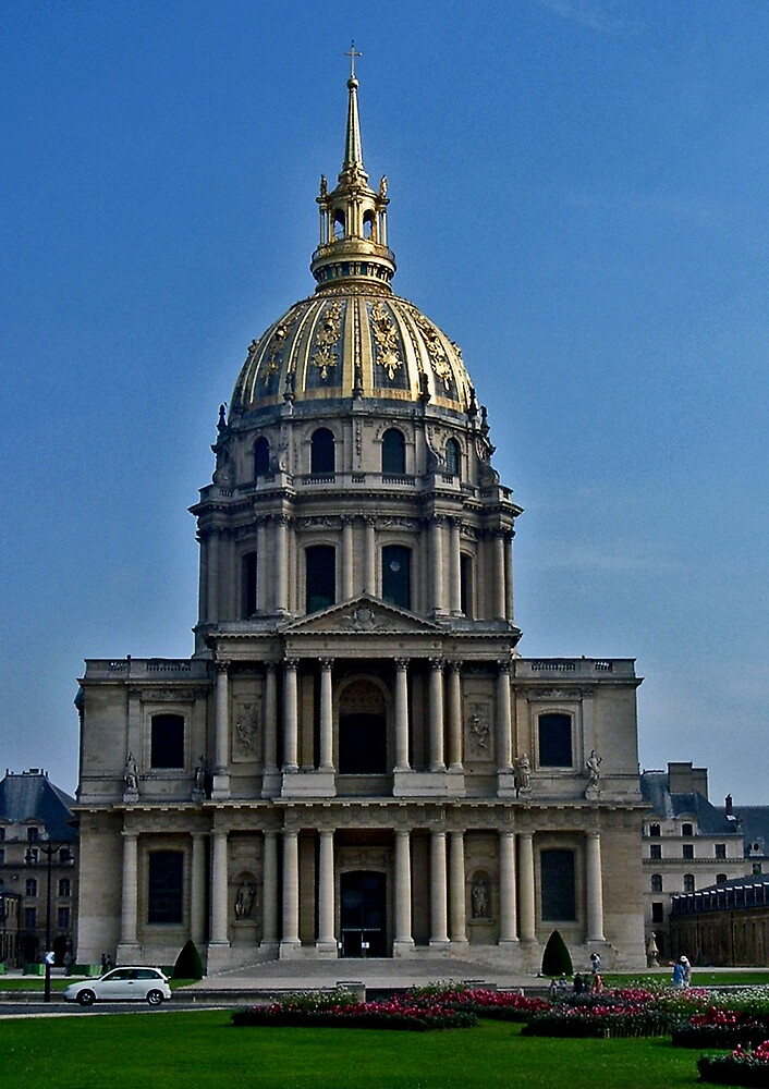 Dome des Invalides by Erika Benoit