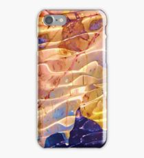 Fallen leaf in water iPhone Case/Skin