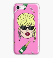 Patsy Stone - Cheers Sweetie Pink iPhone Case/Skin