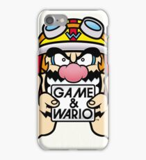 Game And Wario iPhone Case/Skin