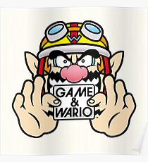 Game And Wario Poster