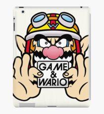 Game And Wario iPad Case/Skin
