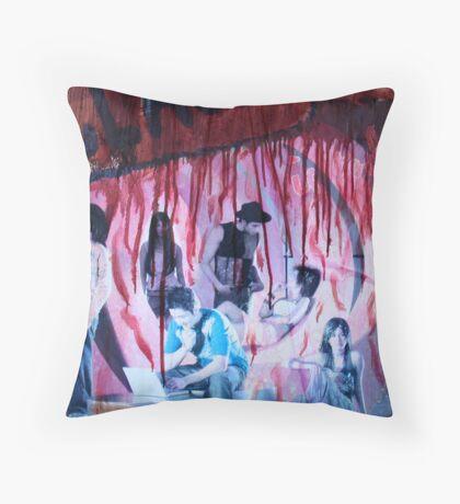 Ad, Bali Throw Pillow